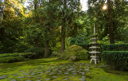 Gapanese trädgård Arkivfoton