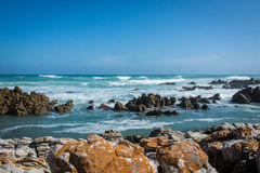 Gape Agulhas. A beautiful landscape located in Cape Town, South Africa Royalty Free Stock Photography