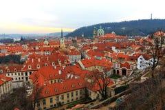 Gapienie Mesto, Praga, republika czech Fotografia Royalty Free