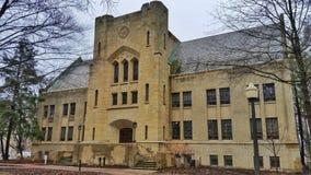 Gaplin Hall, szkoła wyższa Wooster Zdjęcia Royalty Free