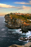 The Gaps, Watson Bay, Sydney. The Gap, a spectacular ocean cliff at Watsons Bay, near South Head, Sydney Stock Images