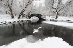 gapstow bridżowa zima fotografia royalty free