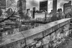 Gapstow bridżowy central park, Miasto Nowy Jork fotografia royalty free