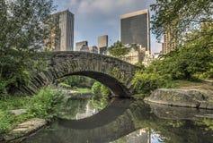 Gapstow bridżowy Centrali Park, Miasto Nowy Jork Zdjęcia Royalty Free