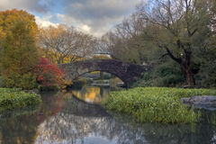 Gapstow bridge in autumn Royalty Free Stock Photography