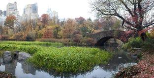 Gapstow bridge in autumn Stock Image