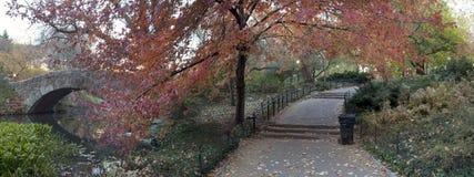 Gapstow bridge - Central Park stock images