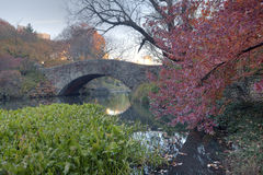 Gapstow bridge - Central Park Royalty Free Stock Photography