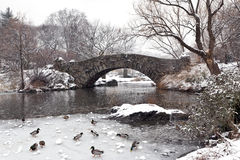Gapstow Bridge - Central Park Stock Photo