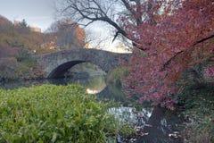 Gapstow bridge - Central Park Stock Image