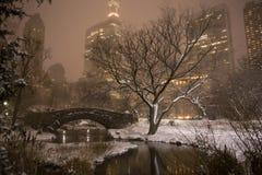 Gapstow Bridge in Central Park Stock Images