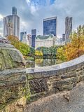 Gapstow bridge Central Park, New York City Royalty Free Stock Images
