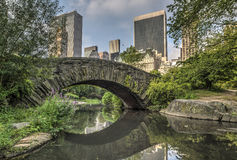 Gapstow bridge Central Park, New York City Royalty Free Stock Photos