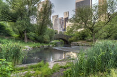 Gapstow bridge Central Park, New York City Royalty Free Stock Images