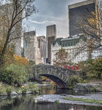 Gapstow bridge Central Park, New York City Royalty Free Stock Photography