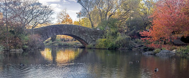 Gapstow bridge Central Park, New York City Royalty Free Stock Photos