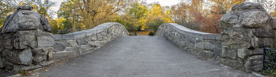 Gapstow bridge Central Park, New York City Stock Photos
