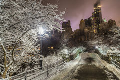 Gapstow bridge Central Park, New York City Stock Photography