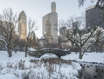 Gapstow bridge Central Park, New York City Royalty Free Stock Image