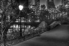 Gapstow Bridge at night Stock Images