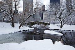 Gapstow bridge in winter Stock Images
