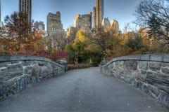 Gapstow mosta central park, Miasto Nowy Jork Zdjęcia Royalty Free