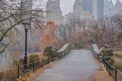 Gapstow mosta central park, Miasto Nowy Jork Obrazy Royalty Free