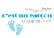 Garçon för FN för c-`-est Fotografering för Bildbyråer
