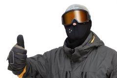 Garçon 4 de Snowboarder Photo stock