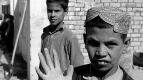 Garçon afghan Image libre de droits