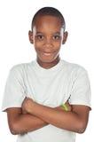 Garçon africain adorable Images stock