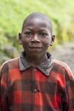 Garçon africain au Rwanda Photos stock