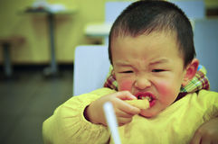 Garçon asiatique Photographie stock libre de droits