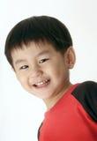 Garçon asiatique heureux Image libre de droits