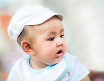 Garçon asiatique mignon Photo stock
