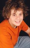 Garçon attirant de treize ans Image stock