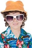 Garçon avec des lunettes de soleil Image stock