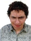 Garçon avec le visage drôle Image libre de droits