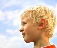 Garçon blond images libres de droits