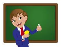 Garçon d'école illustration de vecteur