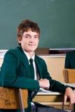 Garçon d'école d'adolescent Photographie stock libre de droits