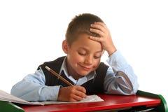 Garçon d'école primaire Images libres de droits