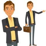 Garçon d'affaires illustration de vecteur
