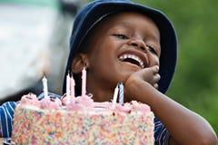Garçon d'anniversaire Image libre de droits