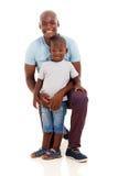 Garçon d'homme d'afro-américain Images libres de droits