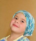 Garçon dans le foulard Photos stock