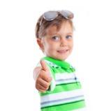 Garçon dans les lunettes de soleil images libres de droits