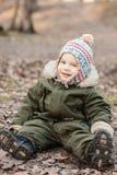 Garçon dans un chapeau Photos stock