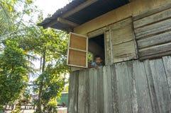 Garçon de Bajau Photo stock
