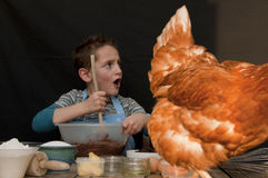 Garçon de boulangers Images stock